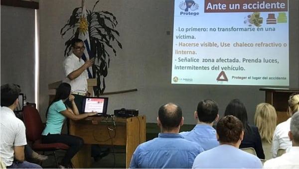 Un nuevo taller de primeros auxilios brindó La Asistencial a funcionarios del Gobierno de Maldonado
